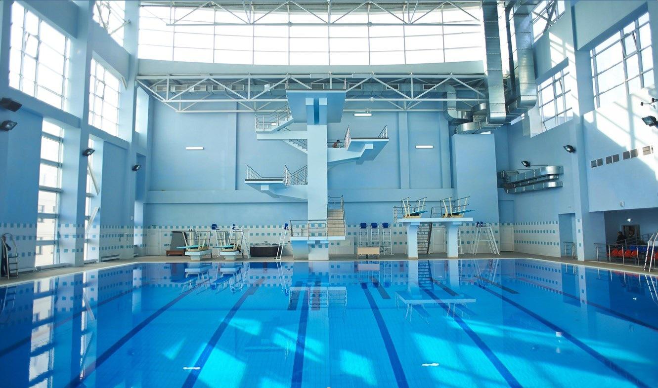 аудио спортзал физинститут в бассейне фото этом